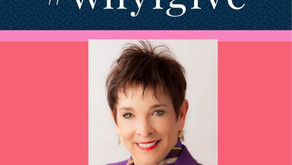 Why I Give - Lynne Stewart