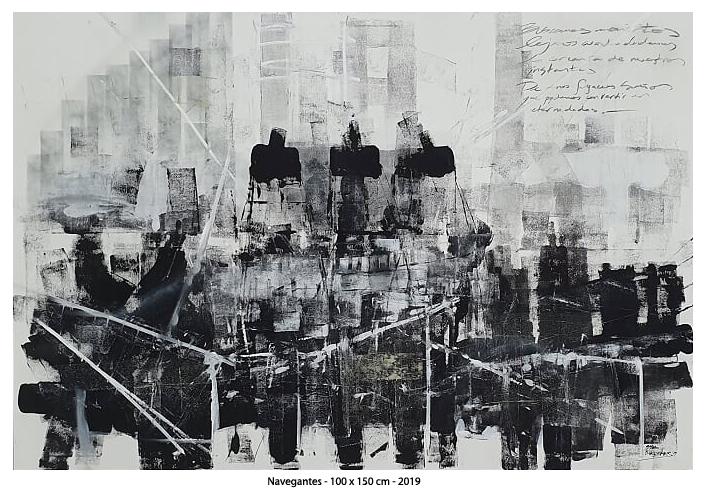 Navegantes - 150 x 100 cm - 2019