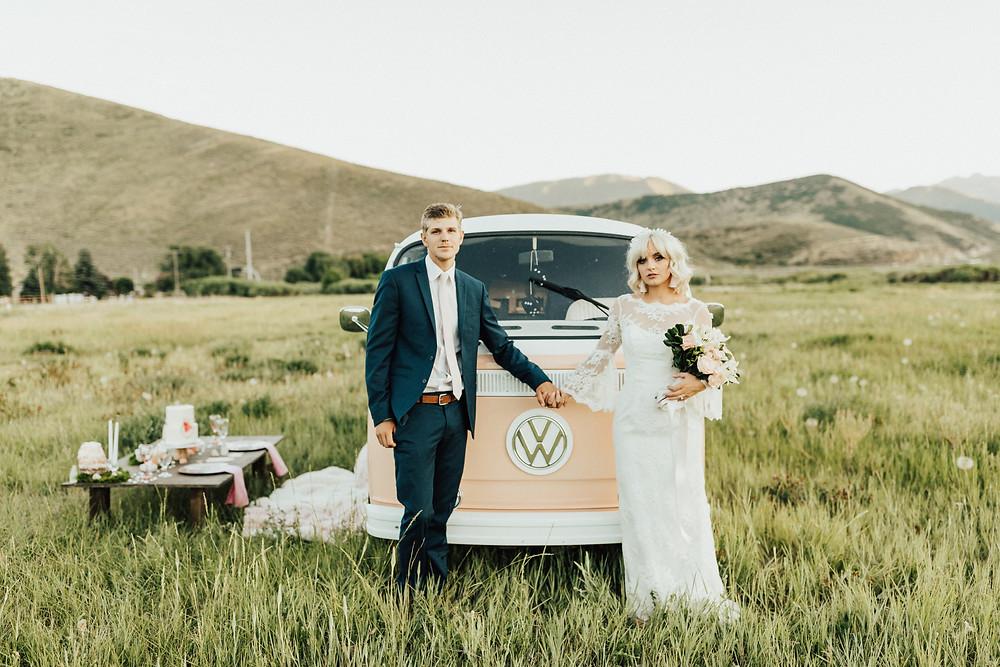 Boho styled wedding