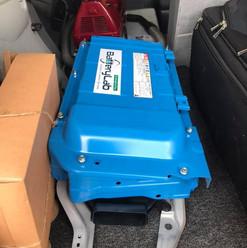 Hybrid battery installation in Jaffna