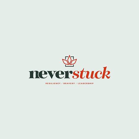 Never Stuck - Non-profit - Logo Design