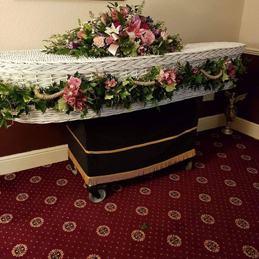 Coffin Spray and Coffin Dressing