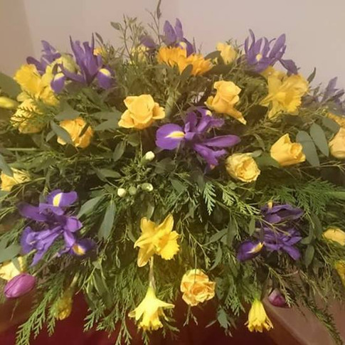 4ft Purple and Yellow