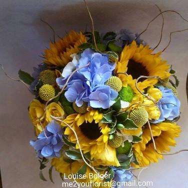 Sunflower Handtie