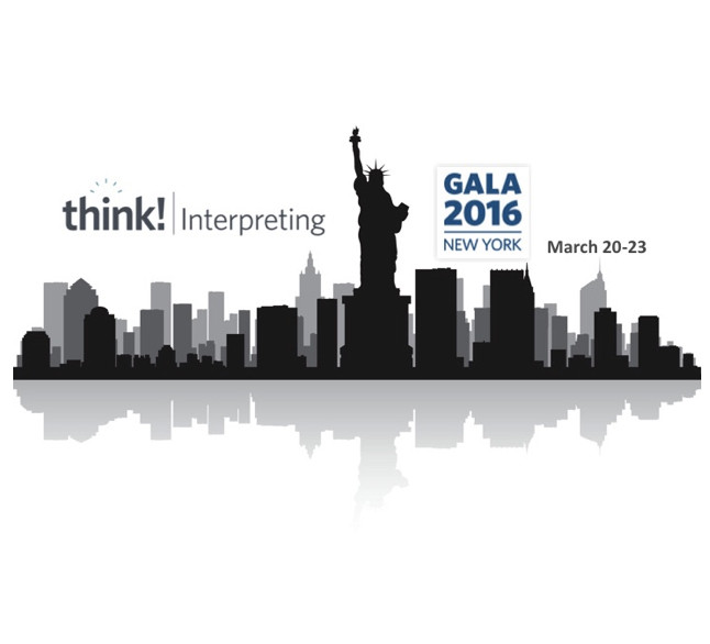 think! Interpreting 2016 to focus on Next-Gen Language Services