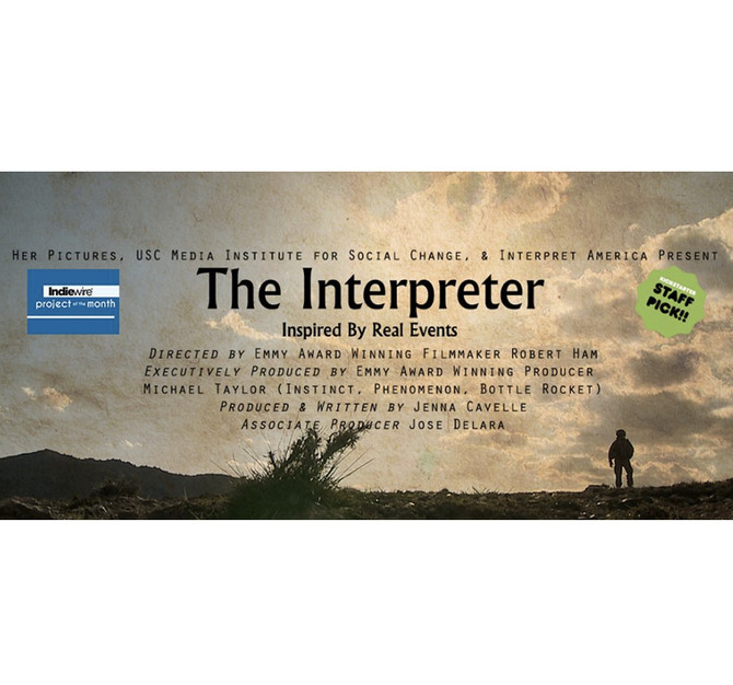 "We Did It! ""The Interpreter"" Garners Minimum $20k to Begin Production"