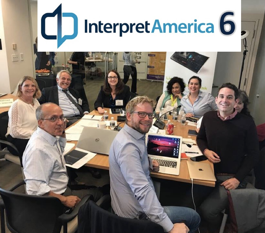 InterpretAmerica workgroup participants