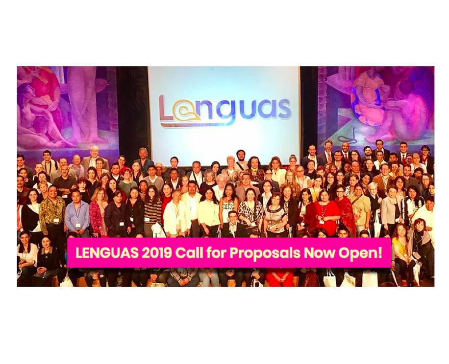 Make Your Mark in Mexico: The Lenguas 2019 Call for Proposals Is Officially Open