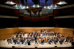 Leading Hallé Youth Orchestra