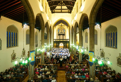 Leading King's Consort Orchestra