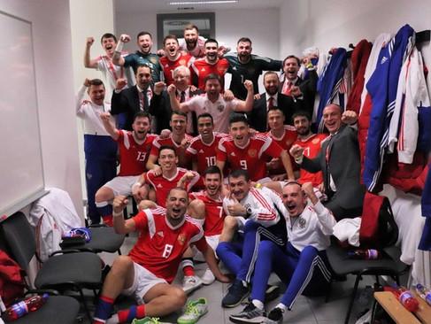 Поздравляем сборную России с выходом в финальную часть ЧМ 2020! 8 февраля состоится Кубок тренера сб