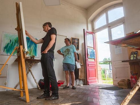 Cours de peinture - l'Atelier Gare - Strasbourg - Obernai - Mollkirchg