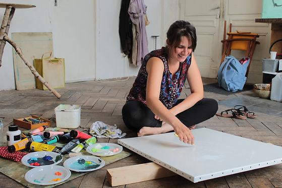 Cours de peinture - l'Atelier Gare - Strasbourg - Obernai - Mollkirch