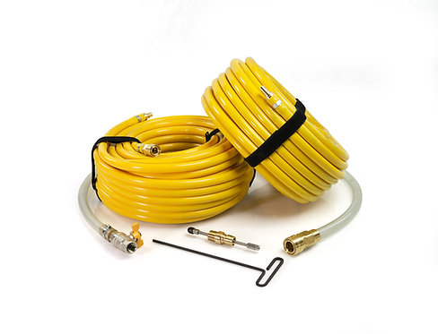 reverse flow hose kit