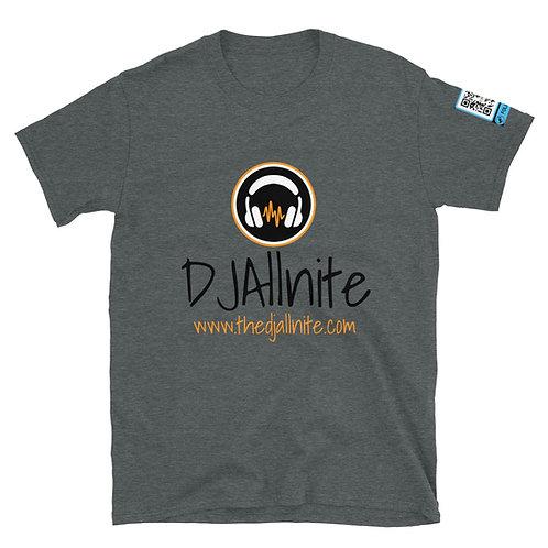 THEDJAllnite Logo Unisex Basic Softstyle T-Shirt | Gildan 64000