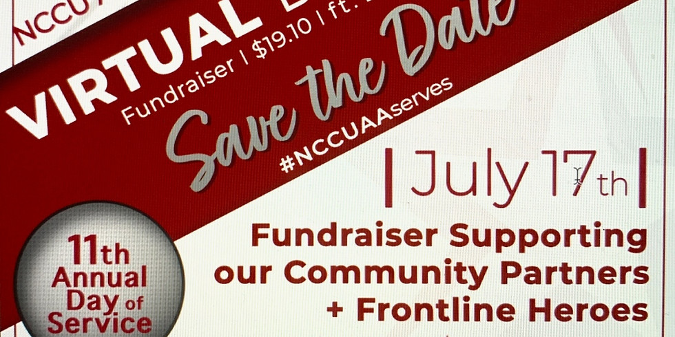 NCCU Day of Service Virtual Day Party