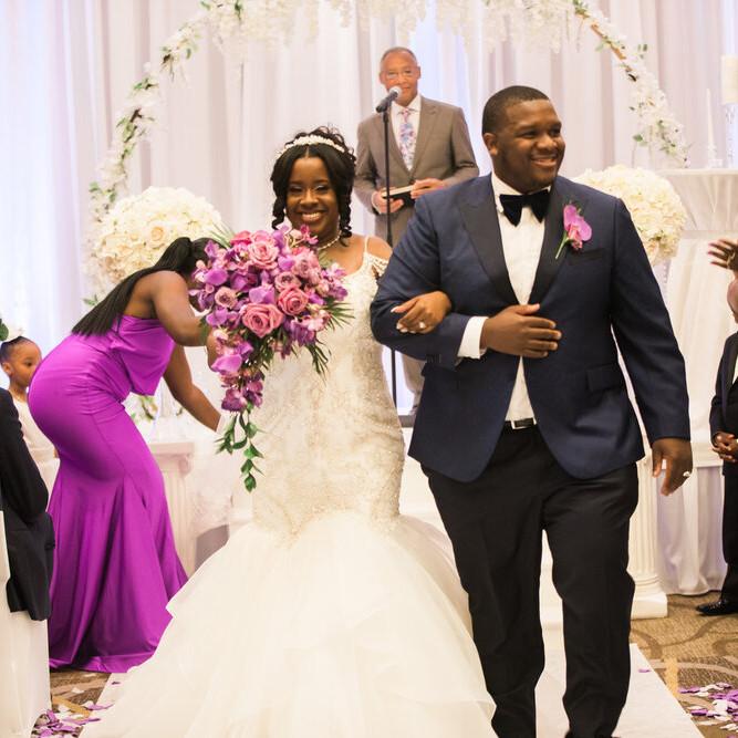 Wedding of Nichole Young