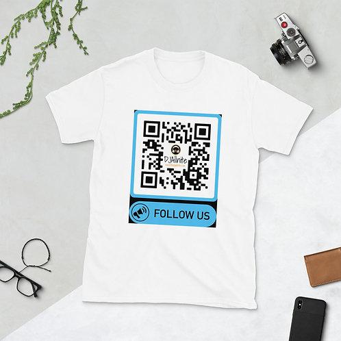 DJ Allnite Scan-a-ble Short-Sleeve Unisex T-Shirt