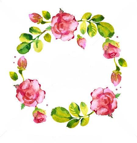 A FLOWER WREATH