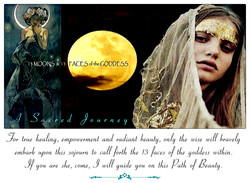 13 Moons & 13 Faces of the Goddess
