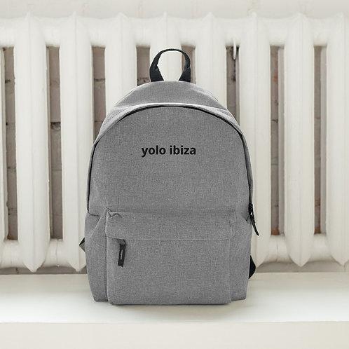 yolo ibiza embroidered backpack