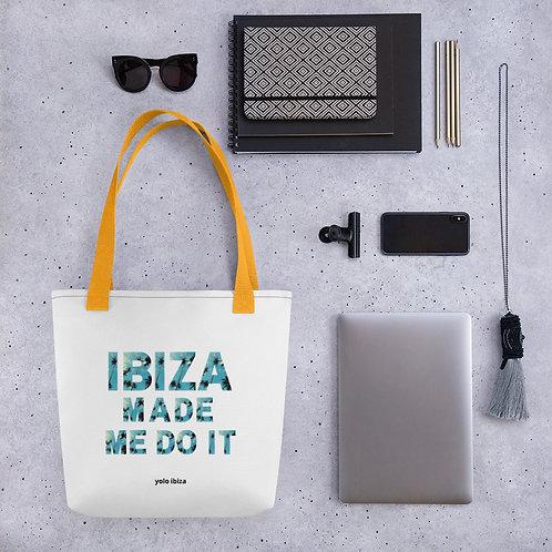 Ibiza Made me do it... Tote bag