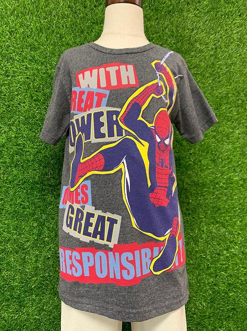 Spiderman T-Shirt -Size 7/8-