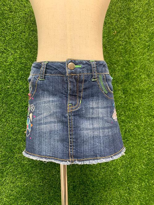 Circo Denim Skirt Size 4/5