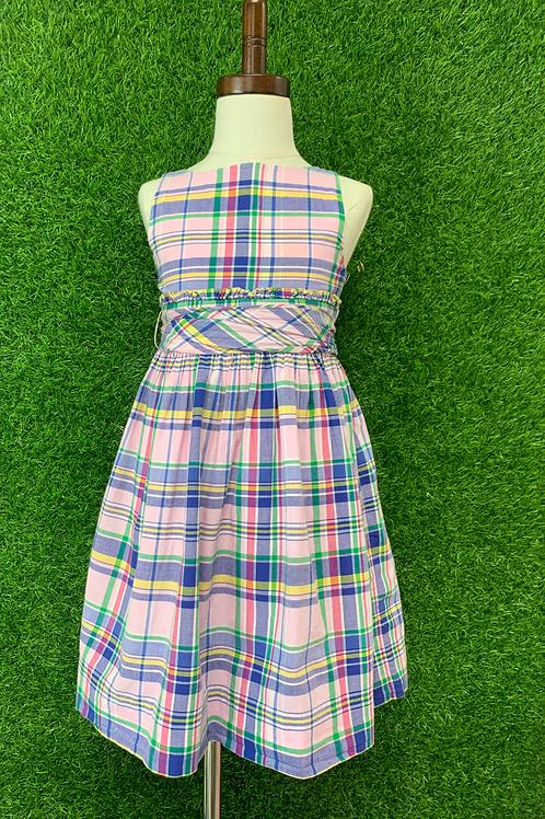 Ralph Lauren Plaid Dress -Size 5