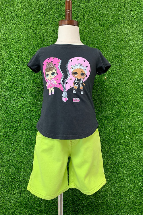Lol Doll T-Shirt-Size 4/5