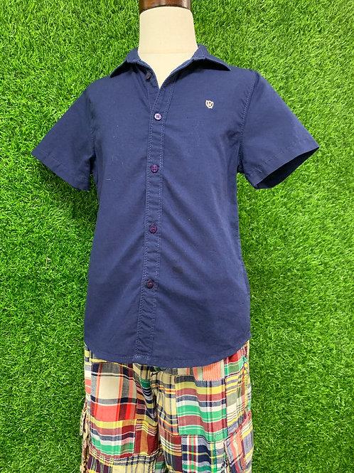 Mayoral (Spain) BoysNavy Shirt -Size 5-