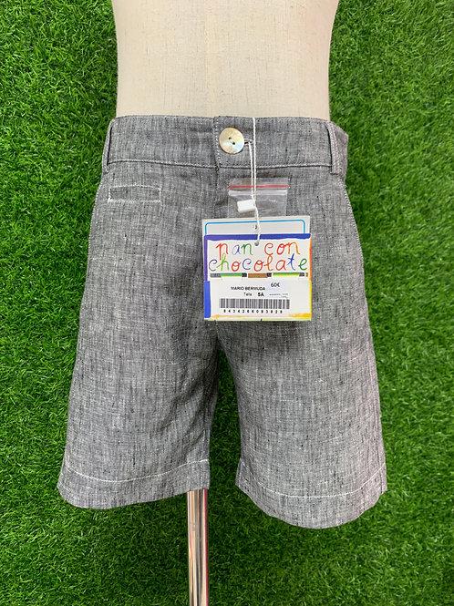 Pan & Chocolate (Spain) Linen Shorts -Size 5