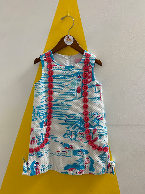 Lilly Pulitzer Anchor Dress Size 5