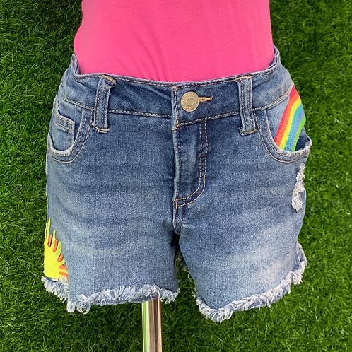 Rainbow Shorts Size 6