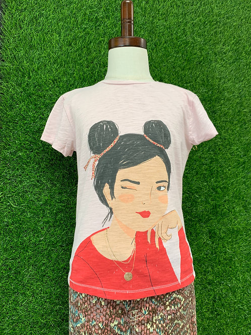 Zara Wink T-Shirt Size 7/8