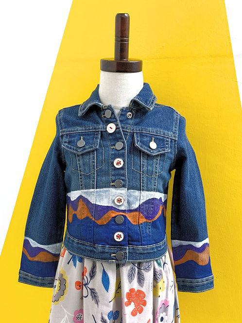 Customized Denim Jacket Size 4T