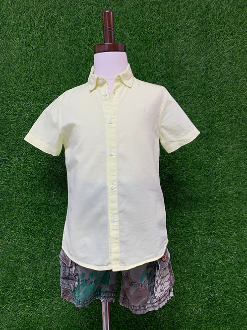Mayoral (Spain) yellow shirt -Size 5-
