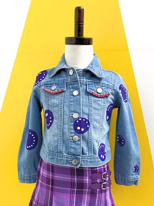 Customized Denim Jacket Size 3T