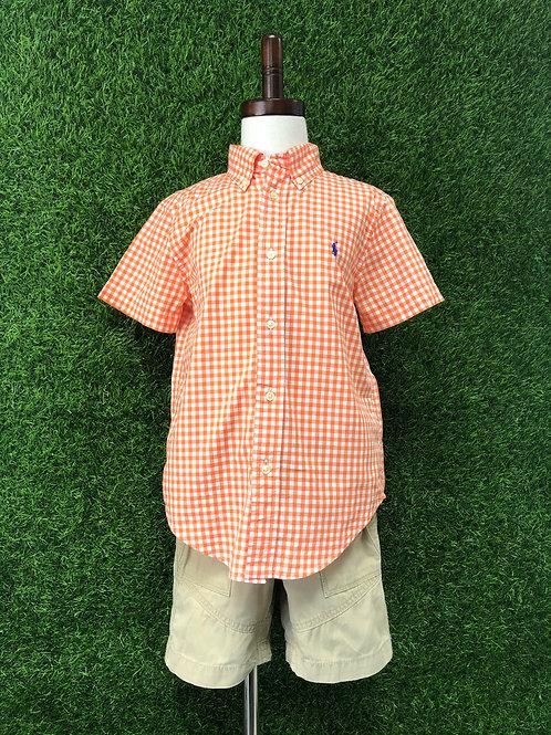 Polo Button up Shirt -Size 6