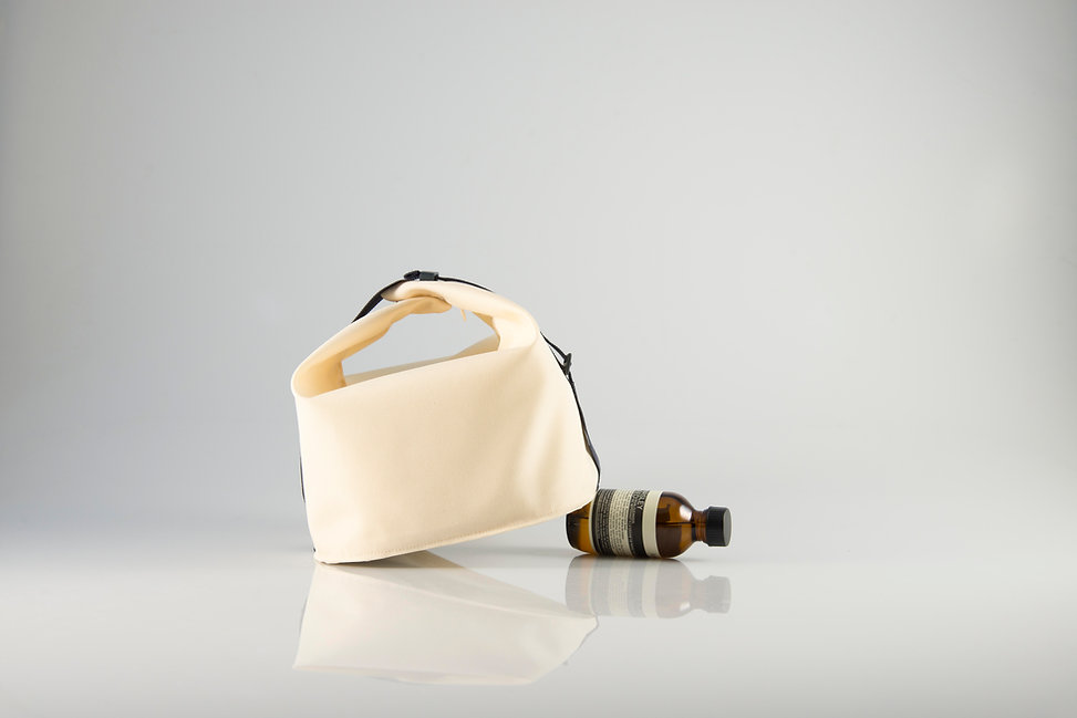 Furoshiki Toiletry bag design by Omer & Alexandra