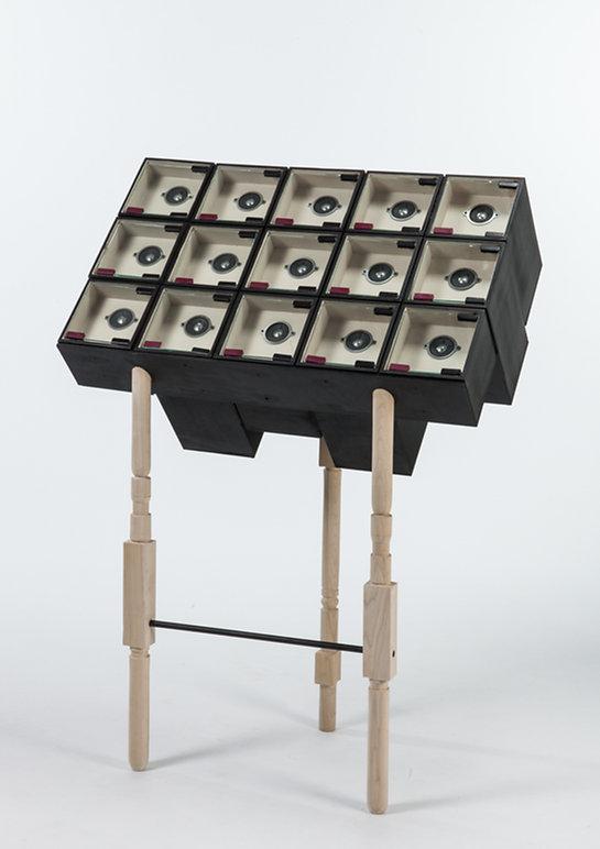 Sound vtrine by Omer Polak
