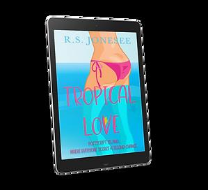 Tropical Love 3D eBook cover transparenc
