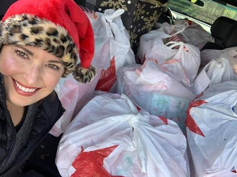 Macy's Family Donations for Xmas