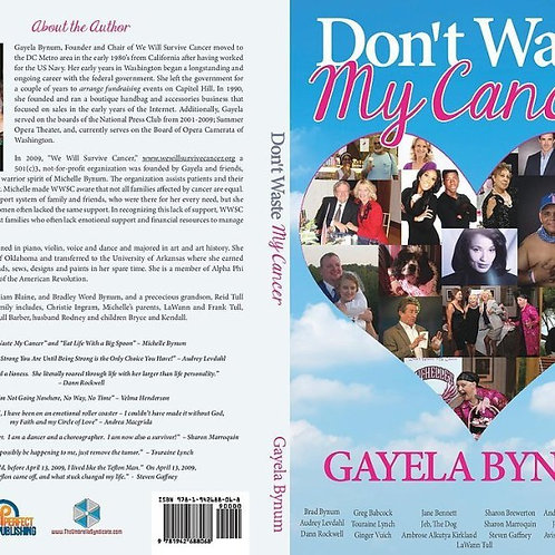 Don't waste My Cancer book