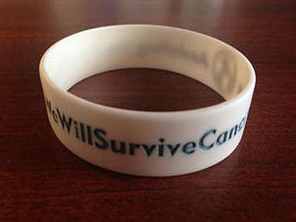 Silicone WWSC Support Wrist Band