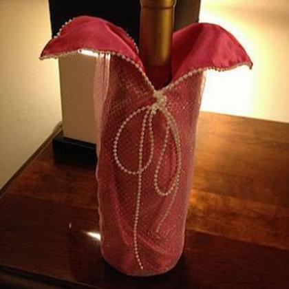 """""""Little Pink Dress"""" Wine Caddie"""