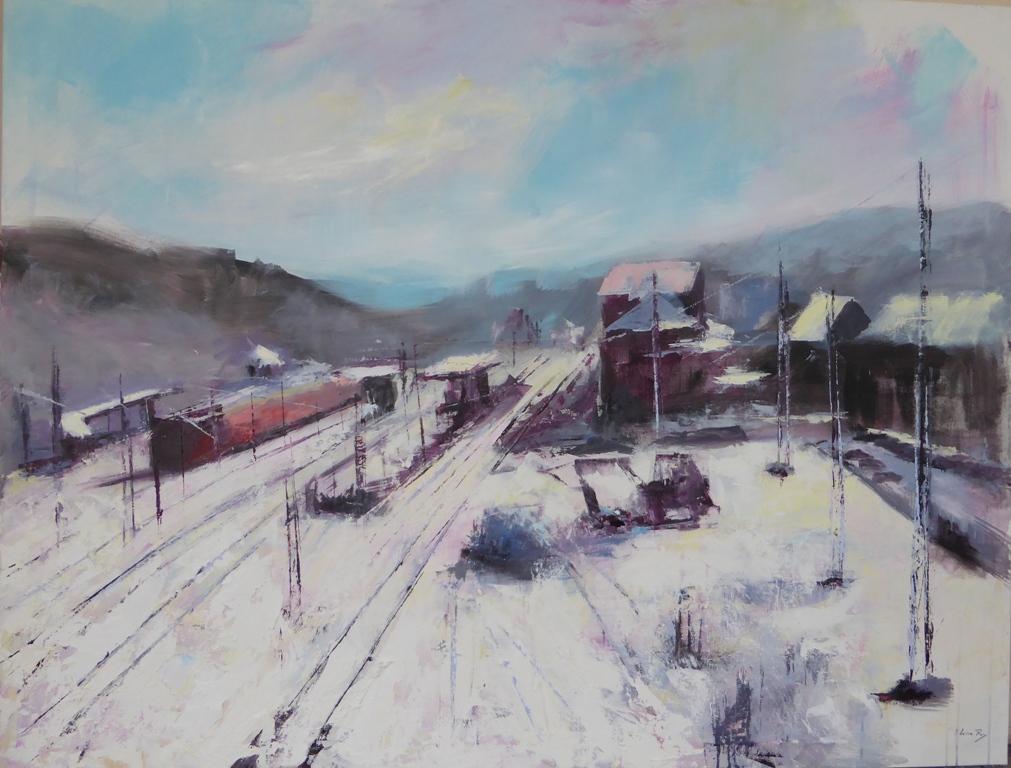 Estación nevada