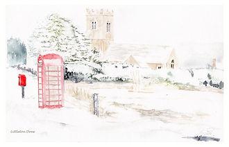 'Littleton Drew' in the snow