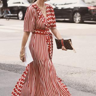 Woman in long red dress - casual.jpg