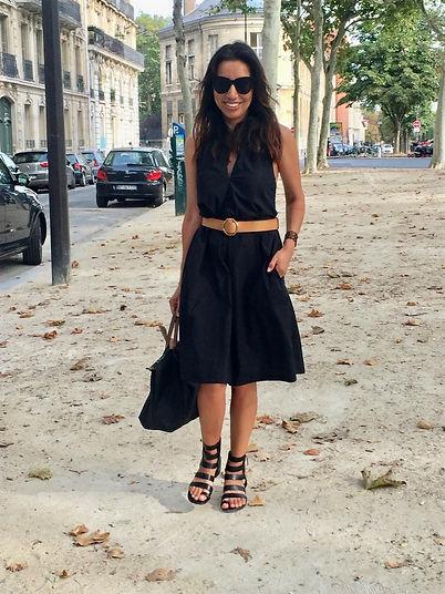 Leticia Gonzales Fashion Stylist in Paris